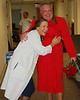 "The Red Dress is the national symbol of Heart Disease awareness. On 9/12 the gentleman in whose name we raise the most money for AHA will wear the Red Dress to the hospital cafeteria. Richard and his cheerleaders, Adam, Shawn and Jason represent the ""Rah, Rah, Radiation"" Radiation Oncology Team. Click <a href=""http://heartwalk.kintera.org/lowcountrysc/richard"">here</a> to donate online to Richard."