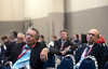 Attendees listen to Peter Morley MBBS speak during the ReSS Session: Main Event: Pharmacological Resuscitation Therapies.