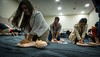 Attendees during 3CPR College Student Meeting