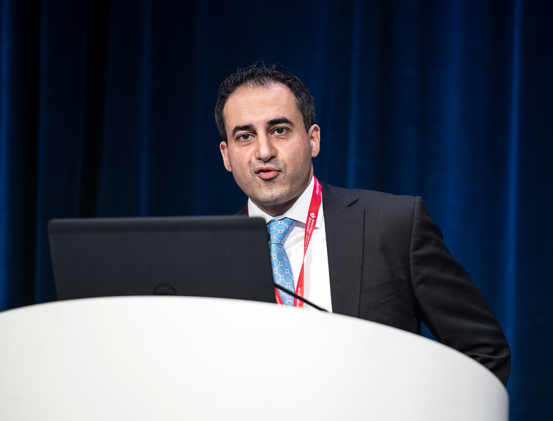 Javid Moslehi MD speaks during the Main Event Session: Cardio-Oncology: Two Killers Collide.