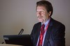 Robert Califf during Laennec Clinician/Educator Lecture