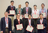 Attendees and awardees  during ATVB Annual Business Meeting & Luncheon