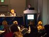 Cynthia Bither speaks during Cardiovascular Nursing Clinical Symposium