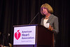 New Orleans, LA - AHA HBPR 2013 : Dr. Kathy Griednlin delivers the Keynote Lecture to attendees   at the American Heart Association High Blood Pressure Research (HBPR) Meeting here today, Wednesday September 11, 2013.  Physicians, researchers and healthcare professionals gathered at the meeting which is being held at the New Orleans Marriott to improve understanding of mechanisms of high blood pressure. Photo by © AHA/Todd Buchanan 2013 Technical Questions: todd@medmeetingiamges.com