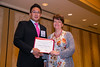 New Orleans, LA - AHA HBPR 2013 : Kyungoon Lim recieves the HBPR Coucil of Australia Young Investigator award at the HBPR Council and Kindey in Cardiovascular Disease Awards Luncheon   at the American Heart Association High Blood Pressure Research (HBPR) Meeting here today, Friday September 13, 2013.  Physicians, researchers and healthcare professionals gathered at the meeting which is being held at the New Orleans Marriott to improve understanding of mechanisms of high blood pressure. Photo by © AHA/Todd Buchanan 2013 Technical Questions: todd@medmeetingiamges.com