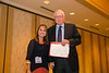 New Orleans, LA - AHA HBPR 2013 : Maria Alicia Carrillo-Sepulveda recieves the HBPR Research Conference New Investigator award at the HBPR Council and Kindey in Cardiovascular Disease Awards Luncheon   at the American Heart Association High Blood Pressure Research (HBPR) Meeting here today, Friday September 13, 2013.  Physicians, researchers and healthcare professionals gathered at the meeting which is being held at the New Orleans Marriott to improve understanding of mechanisms of high blood pressure. Photo by © AHA/Todd Buchanan 2013 Technical Questions: todd@medmeetingiamges.com