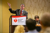 New Orleans, LA - AHA HBPR 2013 : Speakers at the opening workshops address attendees   at the American Heart Association High Blood Pressure Research (HBPR) Meeting here today, Wednesday September 11, 2013.  Physicians, researchers and healthcare professionals gathered at the meeting which is being held at the New Orleans Marriott to improve understanding of mechanisms of high blood pressure. Photo by © AHA/Todd Buchanan 2013 Technical Questions: todd@medmeetingiamges.com