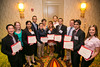 New Orleans, LA - AHA HBPR 2013 : New Investigator Travel Awardees at the HBPR Council and Kindey in Cardiovascular Disease Awards Luncheon   at the American Heart Association High Blood Pressure Research (HBPR) Meeting here today, Friday September 13, 2013.  Physicians, researchers and healthcare professionals gathered at the meeting which is being held at the New Orleans Marriott to improve understanding of mechanisms of high blood pressure. Photo by © AHA/Todd Buchanan 2013 Technical Questions: todd@medmeetingiamges.com