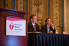 Las Vegas, NV - AHA BCVS 2013 : Attendees at the American Heart Association Basic Cardiovascular Sciences (BCVS) Meeting here today, Monday July 22, 2013.  Physicians, researchers and healthcare professionals gathered at the meeting which is being held at the Paris Hotel to improve understanding of mechanisms of basic cardiovascular regulation to support the development of new therapies and new insights into clinical cardiovascular disease. Photo by © AHA/Todd Buchanan 2013 Technical Questions: todd@medmeetingiamges.com