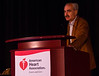 Las Vegas, NV - AHA BCVS 2013 : Roberto Bolli, MD, FAHA   at the American Heart Association Basic Cardiovascular Sciences (BCVS) Meeting here today, Thursday July 25, 2013.  Physicians, researchers and healthcare professionals gathered at the meeting which is being held at the Paris Hotel to improve understanding of mechanisms of basic cardiovascular regulation to support the development of new therapies and new insights into clinical cardiovascular disease. Photo by © AHA/Todd Buchanan 2013 Technical Questions: todd@medmeetingiamges.com
