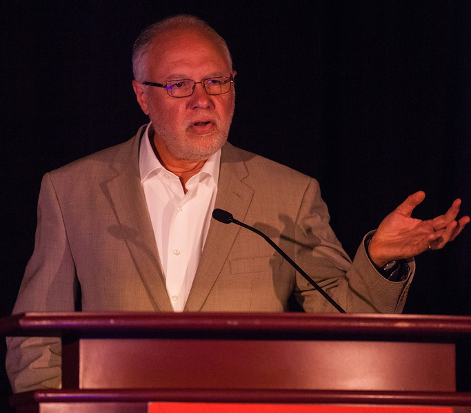 Las Vegas, NV - AHA BCVS 2013 : Eduardo Marban, MD, PhD, speaks   at the American Heart Association Basic Cardiovascular Sciences (BCVS) Meeting here today, Thursday July 25, 2013.  Physicians, researchers and healthcare professionals gathered at the meeting which is being held at the Paris Hotel to improve understanding of mechanisms of basic cardiovascular regulation to support the development of new therapies and new insights into clinical cardiovascular disease. Photo by © AHA/Todd Buchanan 2013 Technical Questions: todd@medmeetingiamges.com