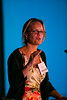 """Las Vegas, NV - AHA BCVS 2013 : Eva van Rooij, PhD discusses """"miroRNA-Based Therapeutics for Heart Disease"""" during the  Targets for Heart Therapy session during the American Heart Association Basic Cardiovascular Sciences (BCVS) Meeting here today, Wednesday July 24, 2013.  Physicians, researchers and healthcare professionals gathered at the meeting which is being held at the Paris Hotel to improve understanding of mechanisms of basic cardiovascular regulation to support the development of new therapies and new insights into clinical cardiovascular disease. Photo by © AHA/Todd Buchanan 2013 Technical Questions: todd@medmeetingiamges.com"""