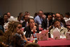 Las Vegas, NV - AHA BCVS 2013 : Attendees at the  Early Career Development Workshop/Lunch session at the American Heart Association Basic Cardiovascular Sciences (BCVS) Meeting here today, Wednesday July 24, 2013.  Physicians, researchers and healthcare professionals gathered at the meeting which is being held at the Paris Hotel to improve understanding of mechanisms of basic cardiovascular regulation to support the development of new therapies and new insights into clinical cardiovascular disease. Photo by © AHA/Todd Buchanan 2013 Technical Questions: todd@medmeetingiamges.com