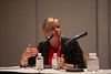 Las Vegas, NV - AHA BCVS 2013 : Heather Duffy, PhD chairs the  Early Career Development Workshop/Lunch session at the American Heart Association Basic Cardiovascular Sciences (BCVS) Meeting here today, Wednesday July 24, 2013.  Physicians, researchers and healthcare professionals gathered at the meeting which is being held at the Paris Hotel to improve understanding of mechanisms of basic cardiovascular regulation to support the development of new therapies and new insights into clinical cardiovascular disease. Photo by © AHA/Todd Buchanan 2013 Technical Questions: todd@medmeetingiamges.com