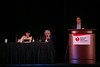 "Las Vegas, NV - AHA BCVS 2013 : Barry London, MD, PhD discusses ""Arrhythmia Genetics"" during the  Systems and Genetics session at the American Heart Association Basic Cardiovascular Sciences (BCVS) Meeting here today, Wednesday July 24, 2013.  Physicians, researchers and healthcare professionals gathered at the meeting which is being held at the Paris Hotel to improve understanding of mechanisms of basic cardiovascular regulation to support the development of new therapies and new insights into clinical cardiovascular disease. Photo by © AHA/Todd Buchanan 2013 Technical Questions: todd@medmeetingiamges.com"