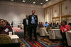 Las Vegas, NV - AHA BCVS 2013 : Attendees   at the American Heart Association Basic Cardiovascular Sciences (BCVS) Meeting here today, Wednesday July 24, 2013.  Physicians, researchers and healthcare professionals gathered at the meeting which is being held at the Paris Hotel to improve understanding of mechanisms of basic cardiovascular regulation to support the development of new therapies and new insights into clinical cardiovascular disease. Photo by © AHA/Todd Buchanan 2013 Technical Questions: todd@medmeetingiamges.com