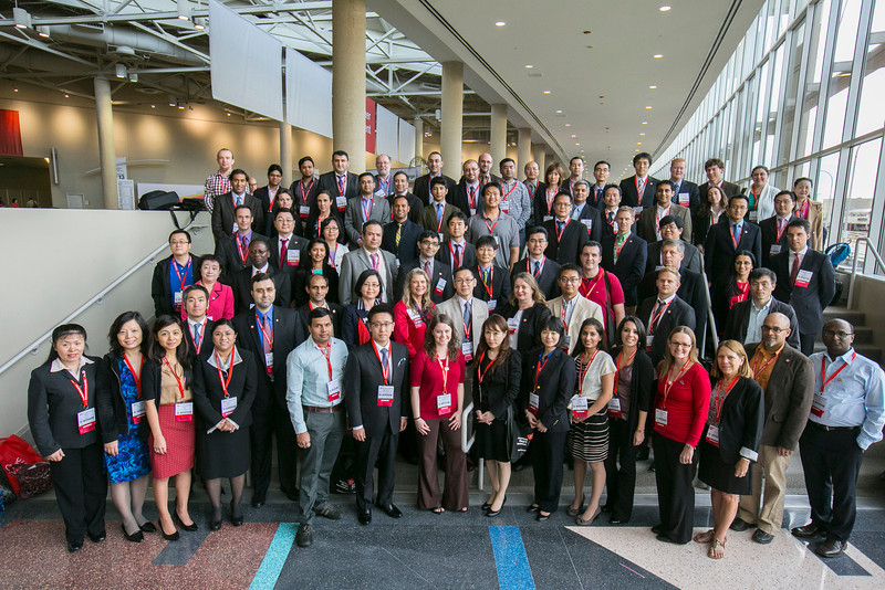 Dallas, TX - AHA 2013 Scientific Sessions - : General views of convention center and attendees:  here today, Monday November 18, 2013 during the American Heart Associations Scientific Sessions being held here at the Dallas Convention Center. Scientific Sessions is the leading cardiovascular meeting for basic, translational, clinical and population science, in the United States, with more 18,000 cardiovascular experts from more than 105 countries attending the meeting. Photo by © AHA/Todd Buchanan 2013 Technical Questions: todd@medmeetingimages.com