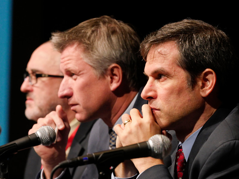 Panelists answer questions during the ReSS:ReSS Opening Session: Welcome & Intro, Plenary I: Future of Trauma and Resuscitation Trial Design