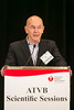 Toronto, Ontario - AHA 2014 ATVB - Alan R Tall, MD, FAHA, delivers the Distinguished lecture   here today, Saturday May 3, 2014 during the American Heart Association's Arteriosclerosis, Thrombosis and Vascular Biology (ATVB) Sessions being held here at the Toronto Sheraton. Over 1000 attendees discussed the latest research in Arteriosclerosis, Thrombosis and Vascular Biology and Periheral Vascular Disease. Photo by © AHA/Todd Buchanan 2014 Technical Questions: todd@medmeetingimages.com