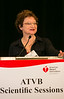 Toronto, Ontario - AHA 2014 ATVB - Katherine A High, MD, delivers the Keynote lecture   here today, Saturday May 3, 2014 during the American Heart Association's Arteriosclerosis, Thrombosis and Vascular Biology (ATVB) Sessions being held here at the Toronto Sheraton. Over 1000 attendees discussed the latest research in Arteriosclerosis, Thrombosis and Vascular Biology and Periheral Vascular Disease. Photo by © AHA/Todd Buchanan 2014 Technical Questions: todd@medmeetingimages.com