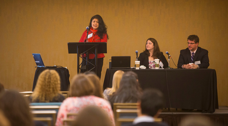 "San Francisco, CA - AHA 2014 EPI/NPAM - Attendees at the ""Deciding what type of faculty position is right for you: Early career expereinces from the trenchrs o fsoft money,hard money and clinical responsibilites""   here today, Friday March 21, 2014 at the American Heart Associations EPI/NPAM Sessions being held here at the San Francisco Hilton. Over 750 attendees discussed the latest lifestyle research in cardiovascular health. Photo by © AHA/Todd Buchanan 2014 Technical Questions: todd@medmeetingimages.com"