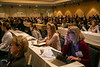 San Francisco, CA - AHA 2014 EPI/NPAM - Attendees listen  during the Oral Session: AHA 2020 Goals: Cardiovascular Health for All Americans here today, Wednesday March 19, 2014 at the American Heart Associations EPI/NPAM Sessions being held here at the San Francisco Hilton. Over 750 attendees discussed the latest lifestyle research in cardiovascular health. Photo by © AHA/Todd Buchanan 2014 Technical Questions: todd@medmeetingimages.com