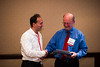 Dallas, TX - AHA 2013 Scientific Sessions - : :  Dr. Thomas Thum accepts his award at The ATVB Journal Editorial Board Dinner on Sunday November 17, 2013 during the American Heart Associations Scientific Sessions being held here at the Dallas Convention Center. Scientific Sessions is the leading cardiovascular meeting for basic, translational, clinical and population science, in the United States, with more 18,000 cardiovascular experts from more than 105 countries attending the meeting. Photo by © AHA/Brian Powers 2013 Technical Questions: todd@medmeetingimages.com