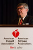 Washington, DC - AHA's Council on Hypertension 2015 - Moshe Levi, MD, speaks during the The Donald Seldin Award Lecture at the American Heart Association's Basic Cardiovascular Sciences Conference at the Omni Shoreham hotel here today, Friday September 18, 2015.  The conference features the most recent advances in basic and clinical hypertension research.  Photo by © AHA/Matt Herp 2015 Contact Info: todd@medmeetingimages.com