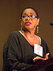 Sharon K. Davis, MEd, MPA, PhD, speaks at BCVS 2016