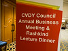Attendees and awardees during Councils:CVDY Dinner and Awards