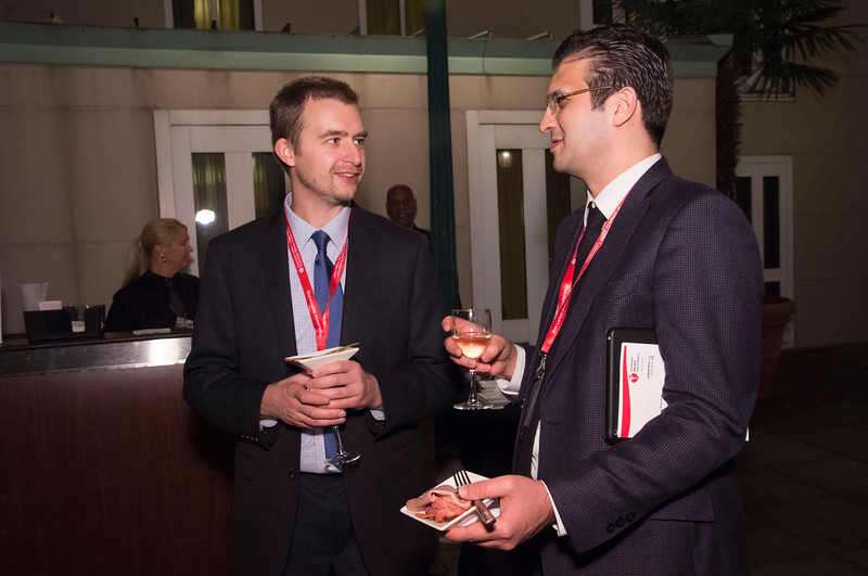 Attendees during Council on Cardiovascular Radiology and Intervention Reception