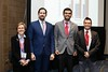 Noel Mueller, not pictured, Ambarish Pandey, Abdulhamie Alfaddagh and Alice Lichtenstein (Award Committee Chair), Peter Wilson and Eric Larose (Committee Members) during Councils:Lifestyle Young Investigator Awards