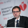 Philippe Gabriel Steg speaks during LBCT.02 - Pioneering the Future of HeART Interventions; LBCT 2 Media Briefing