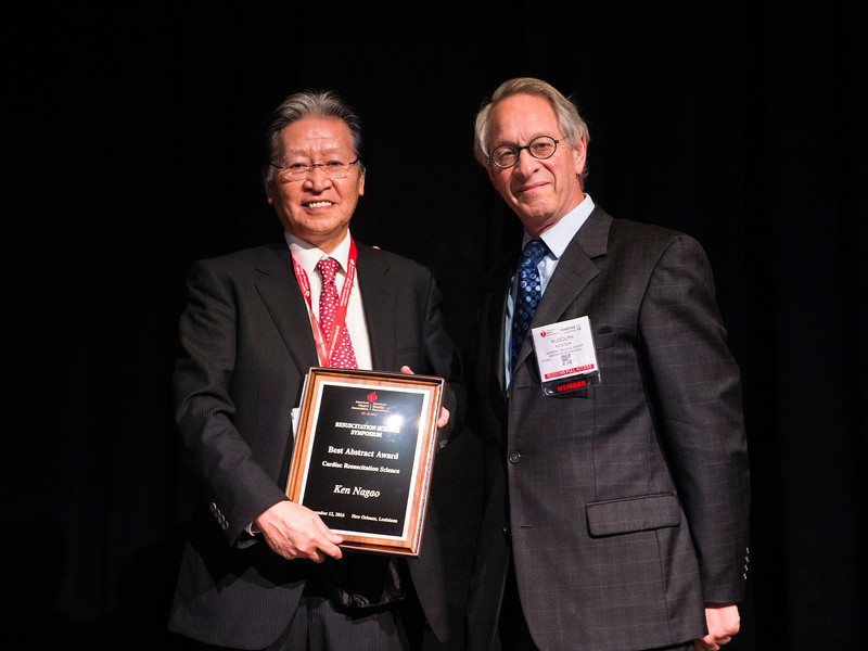 Ken Nagao, MD, PhD speaks during the Science News:ReSS.AOS.04 - Best of the Best Oral Abstract Presentations
