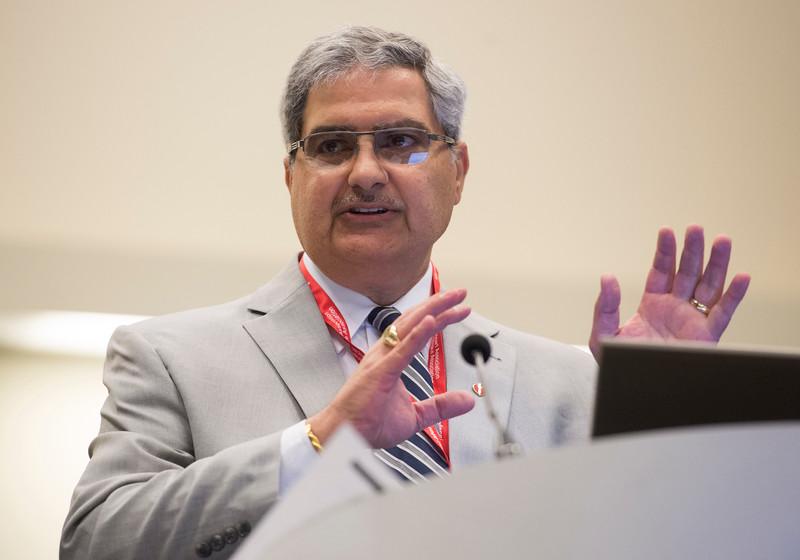 Larry M. Baddour, M.D.,  during Staphylococcus aureus IE presentation