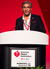 Kausik Ray, M.D., M.Phil, speaks during LBCT.03 - Insights from New Therapeutic Trials for Lipids media briefing