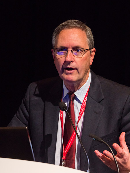 Frank Selke, MD speaks during Symposiums Special Sessions/ Meetings:Main Event Session - Trending Topics in Clinical Science