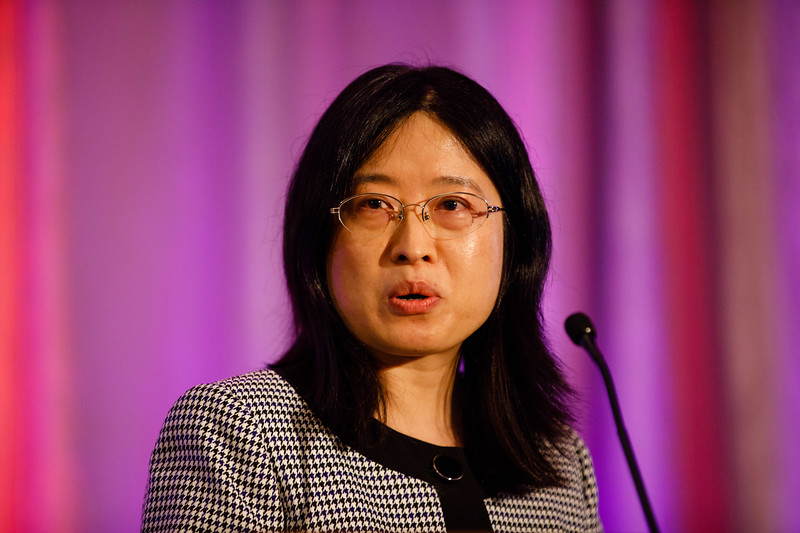 Weifei Zhu speaks during Concurrent III session