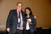 Joshua Beckman and Aruna Pradhan during Council Dinner