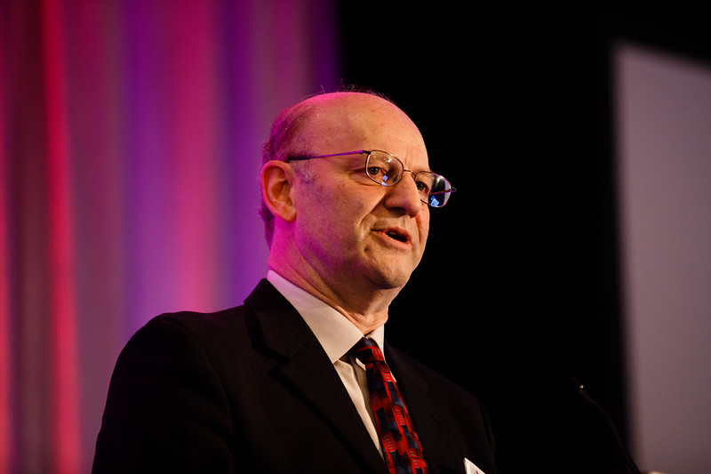 Alan Daugherty during Plenary III session
