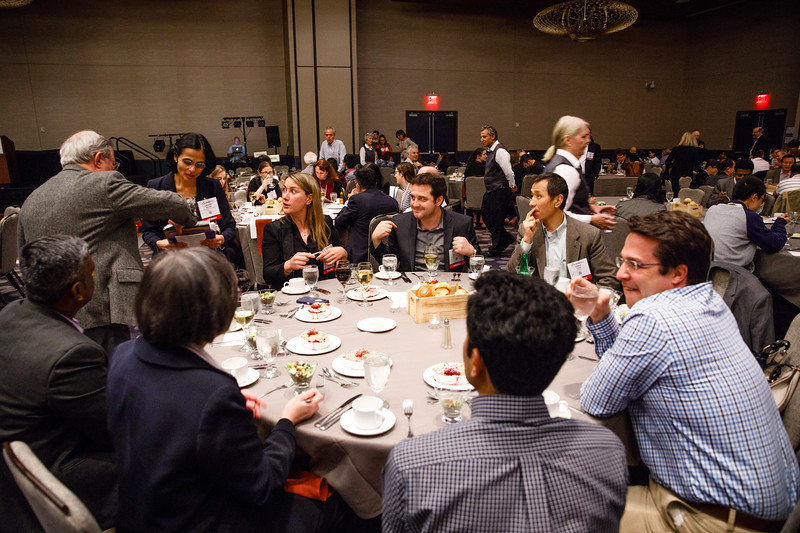 Attendees during Council Dinner