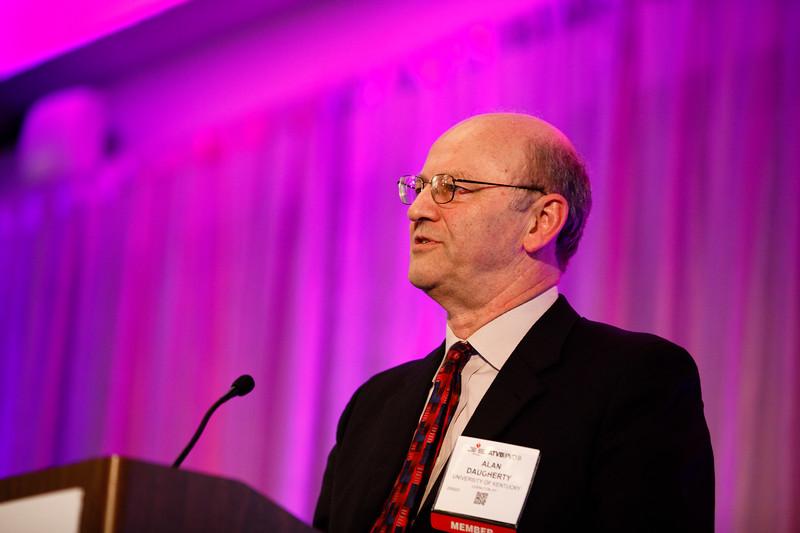 Alan Daugherty during Plenary III session