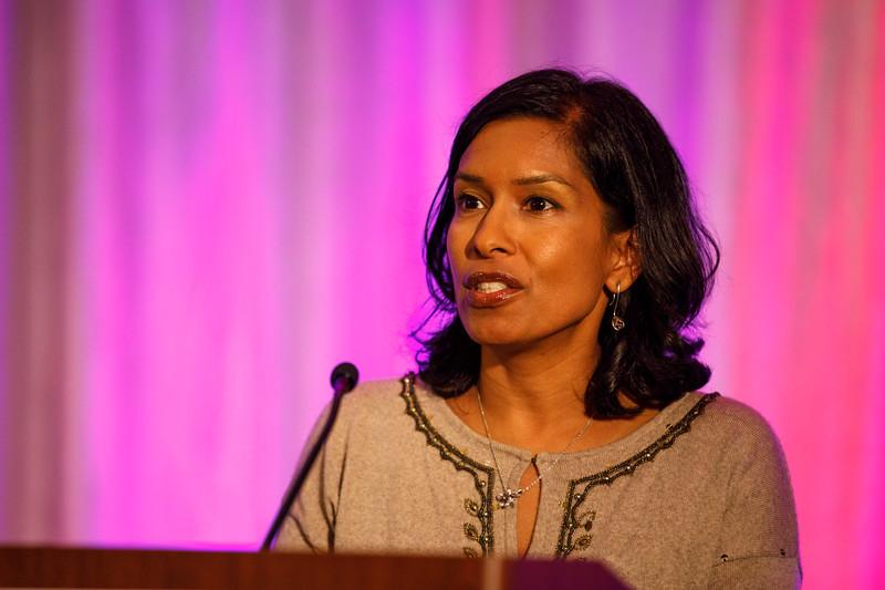 Sudha Biddinger speaks during Concurrent IV session