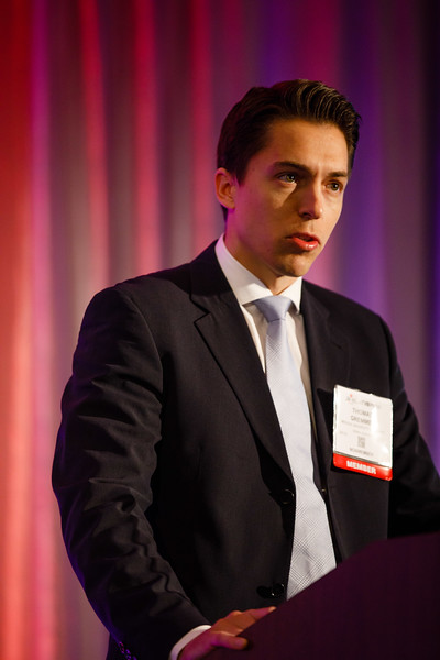 Thomas Gremmel speaks during Plenary III session
