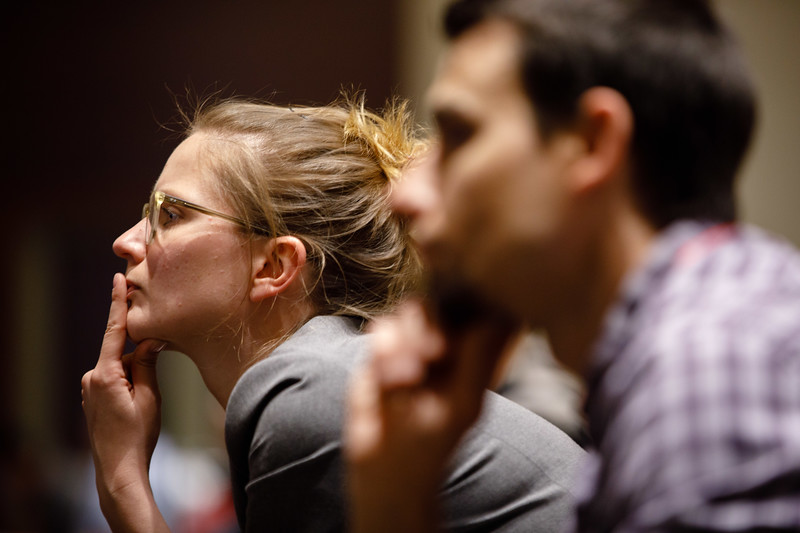 Attendees listen during Plenary Session IV
