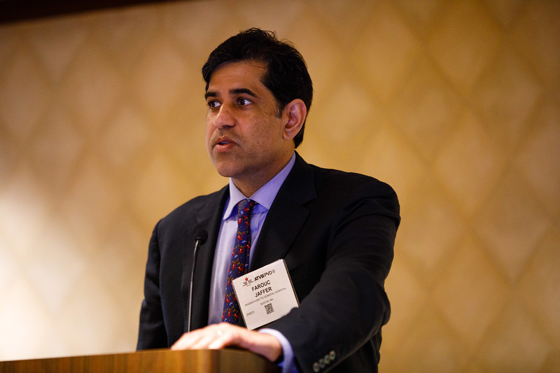 Farouc Jaffer speaks during Concurrent III session