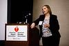 Maureen Lazar speaks during MBTI Workshop