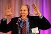 Steven Lentz speaks during Plenary Session