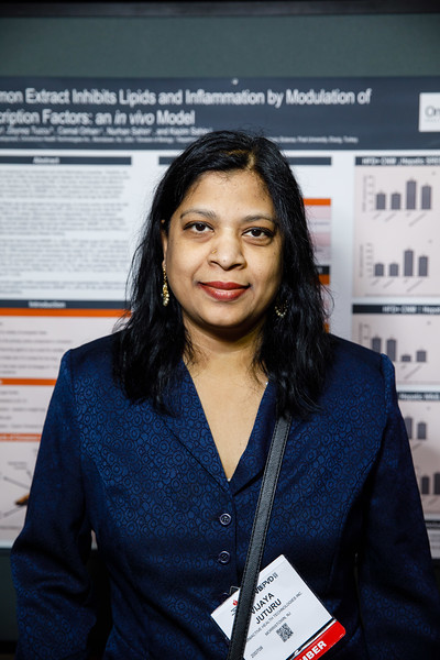 "Vijaya Juturu presents Cinnamon Extract Inhibit Lipids and Inflammation by Modulation of Transcription Factors: in vivo Model"" during Poster Session"