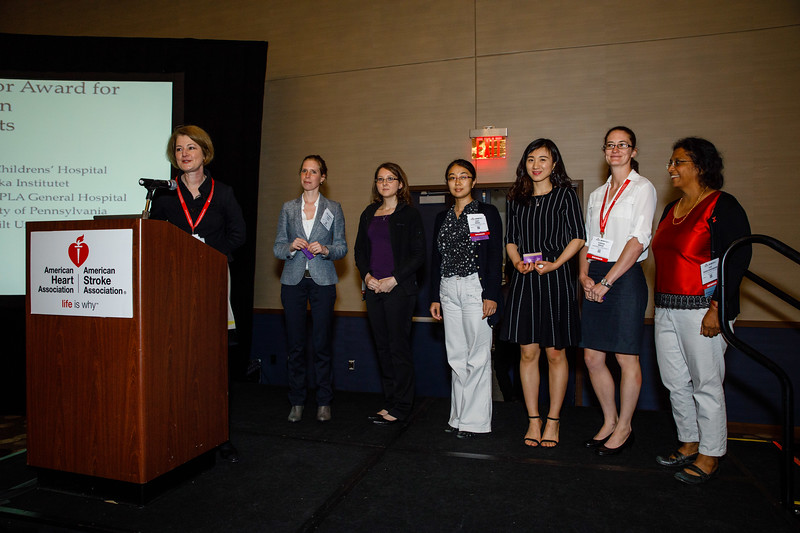 Junior Investigator Award for Women finalists during Mentor of Women Luncheon